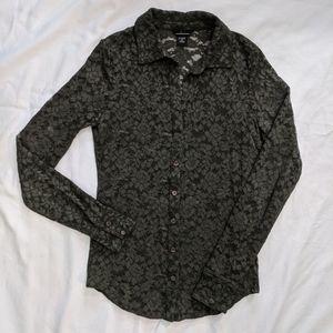VS Moda International lace shirt size S